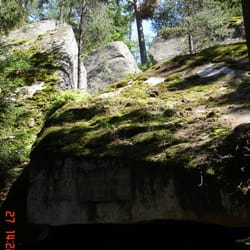 Naturbühne auf der Luisenburg, Wunsiedel, Bayern