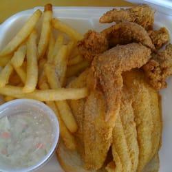 Catfish fillets wings fries coleslaw for Fish express kalamazoo mi