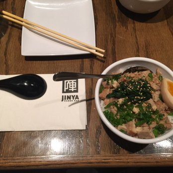 Chicken Chashu rice bowl