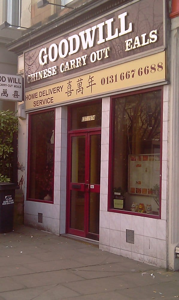 goodwill chinese carryout fast food newington edinburgh vereinigtes k nigreich beitr ge. Black Bedroom Furniture Sets. Home Design Ideas