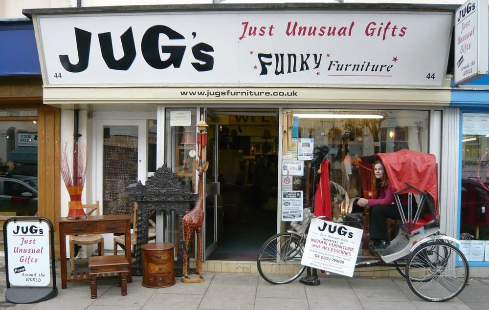 Jugs just unusual gifts indian furniture furniture for Furniture hove