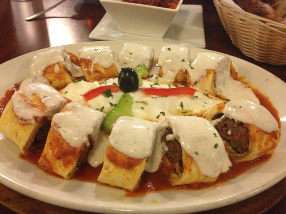 Resimli beyti kebabim for Anatolia mediterranean cuisine orlando