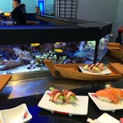 The best Kaiten Sushi I have ever have!…