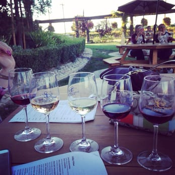 South Coast Winery Resort and Spa - Selection of tasting glasses