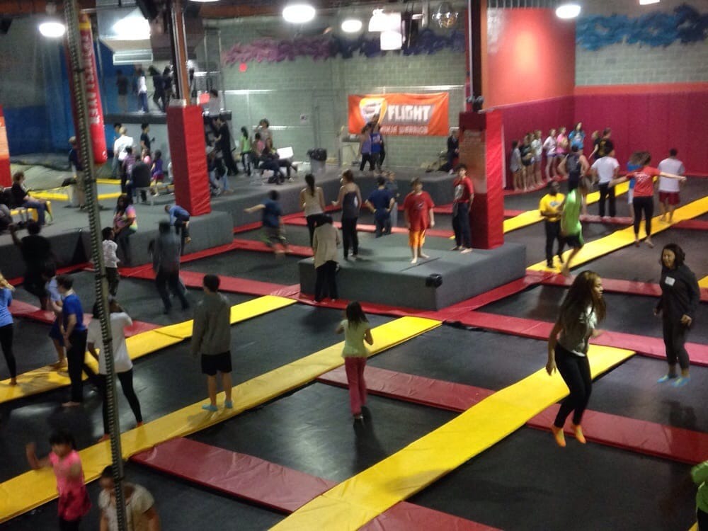 Trampoline Park Springfield Il Trampoline For Your Health