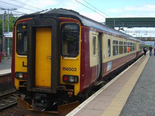 Motherwell Railway Station - Motherwell