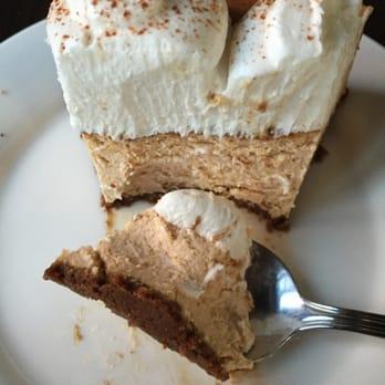 ... , NY, United States. Pumpkin cheesecake yaaas its vegan and amazing