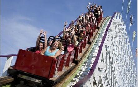 Myrtle Beach Boardwalk Roller Coaster