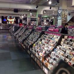 Huge Music CD area