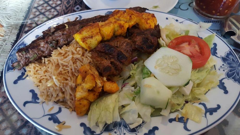 Kebab combo 1 yelp for Ariana afghan cuisine