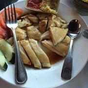 Merlion Restaurant & Bar - Cupertino, CA, États-Unis. Hainan chicken. Add $ 1 for Boneless chicken.