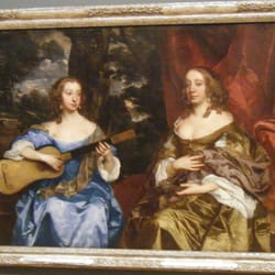 Sir Peter Lely, Two Ladies of the Lake Family. About 1660