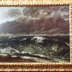 The Wave Gustave Courbet