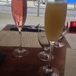 Kit Royale and Pear Bellini