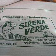 Sirena Verde, Madrid