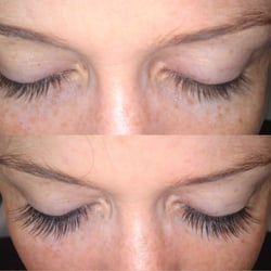 Client wanted full longer lashes
