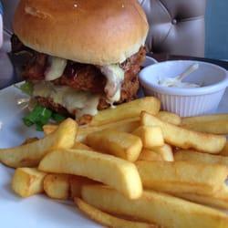 Chicken burger!