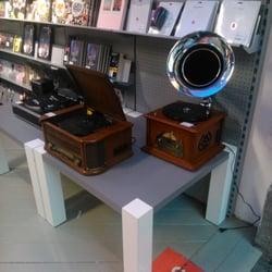 Alte Platten und alte Geräte
