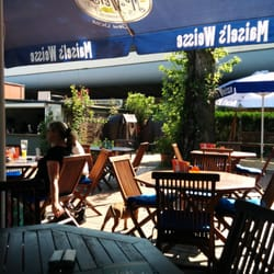 Der Biergarten/Lounge-Bereich