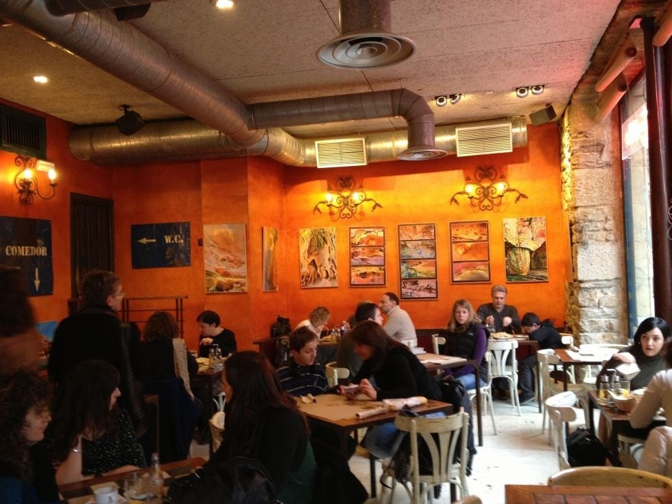 Unique Pintxo De Tocino Fotografa De Caravanserai Cafe San Sebastin
