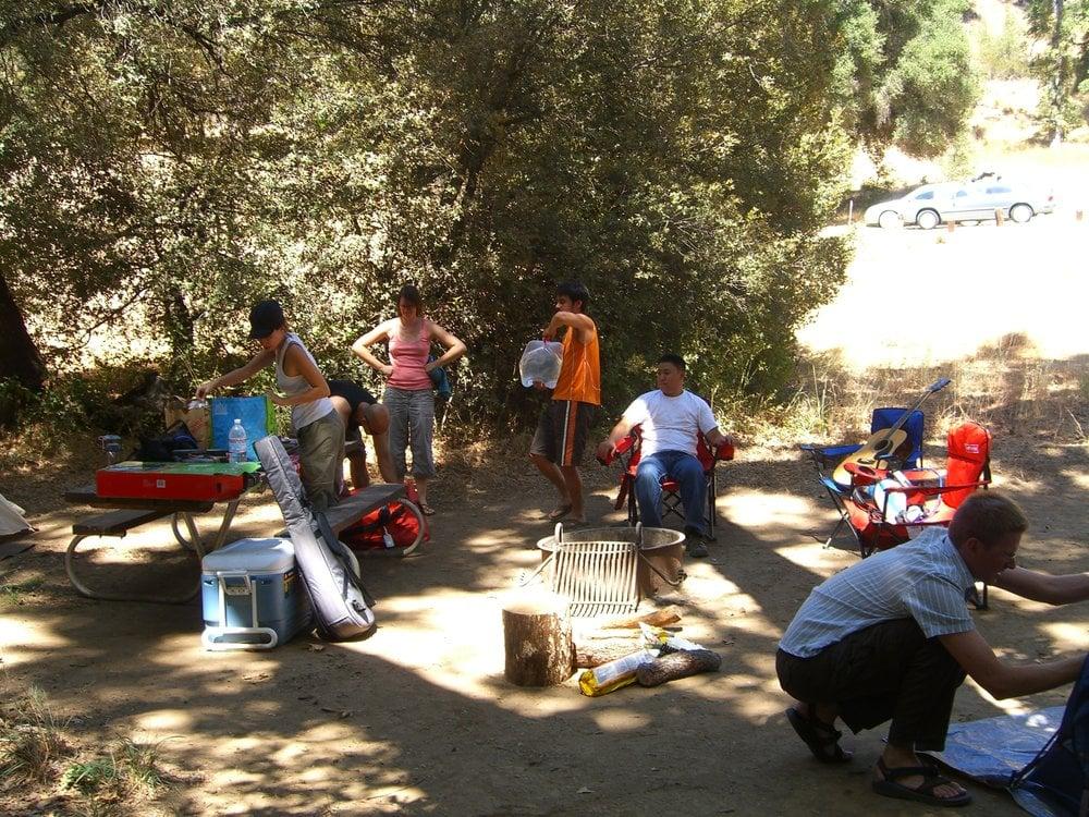 Ponderosa campground wandern big sur ca vereinigte for Ponderosa cabins california