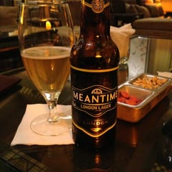 Meantime London Lager. If possible ...Always local beer.