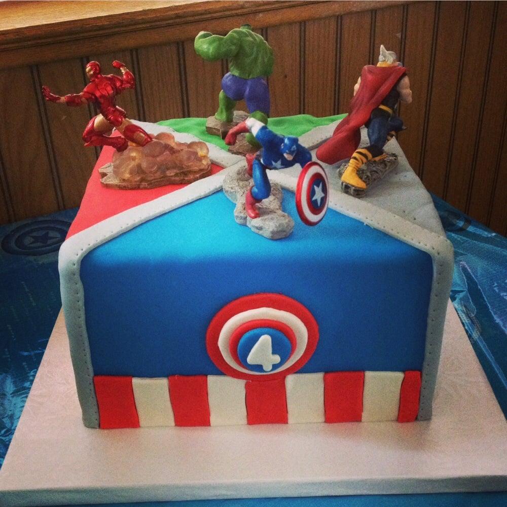 ... Ventura, CA, United States. Avenger cake for my sons 4th birthday