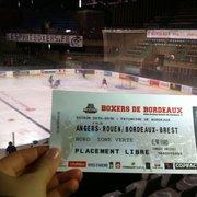 Patinoire Mériadeck - Bordeaux, France. Allez c'est partie pour la summer ice trophy!!!!