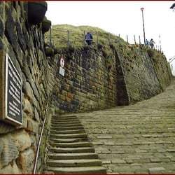 The 199 steps above the donkey path