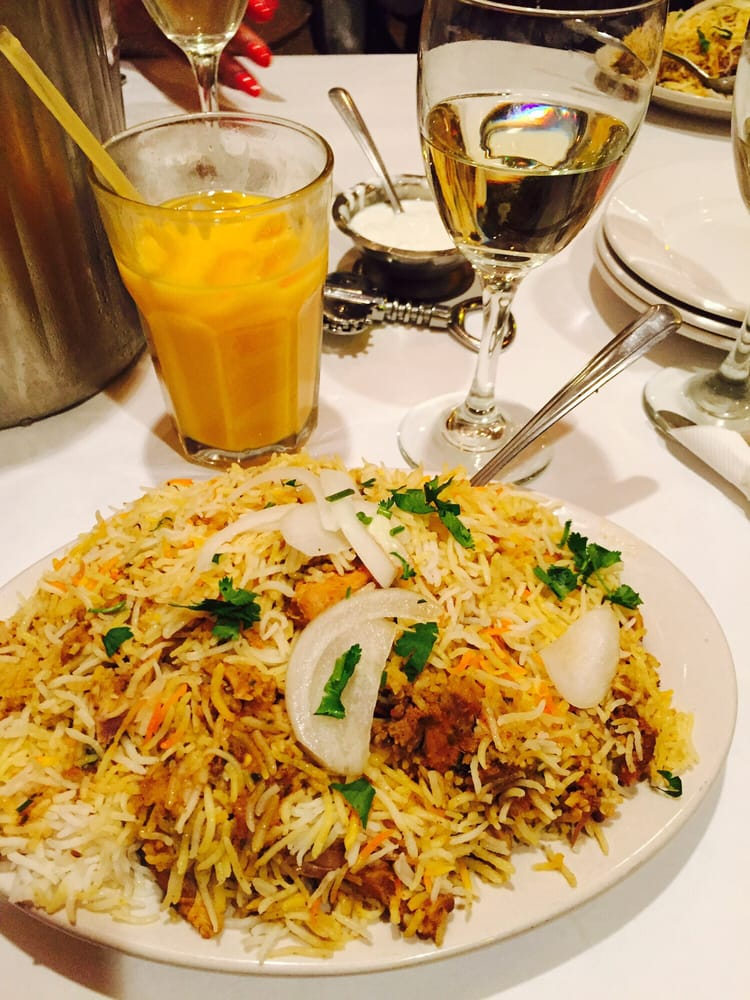 Hema's Kitchen - Chicago, IL, United States. Chicken Biryani