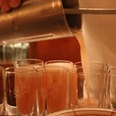 Making the world-famous bellinis