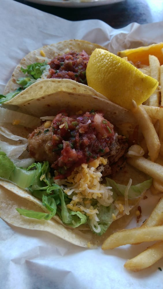 ... Cafe - Moss Landing, CA, United States. Deep fried oysters tacos