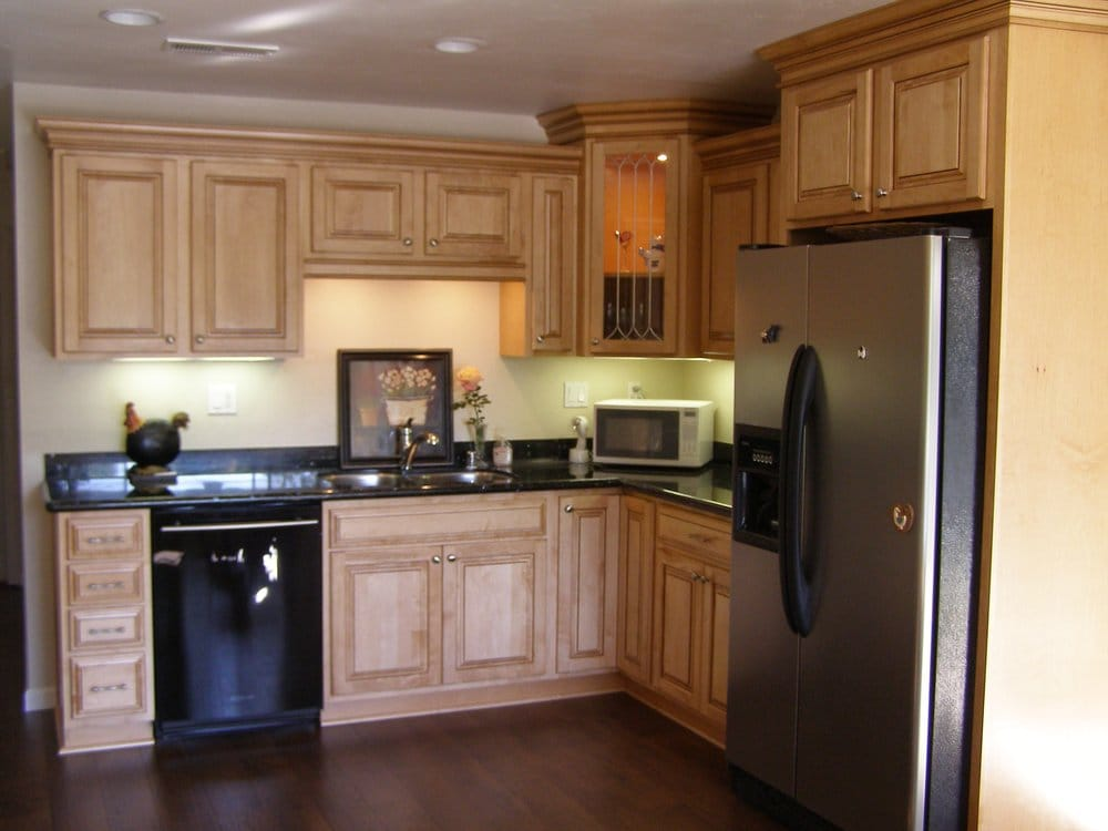 Fantastic kitchen remodel with maple cabinets yelp for Kitchen design yelp