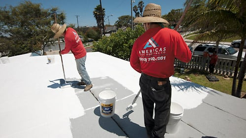 Elastomeric Title 24 Coating Over Torch Down Roofing Yelp