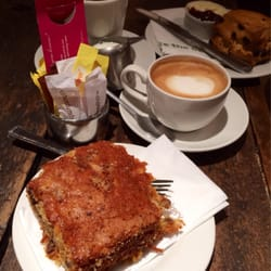 Generous slab of carrot cake, om nom…