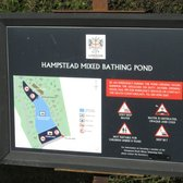 Noticeboard Mixed Bathing Pond