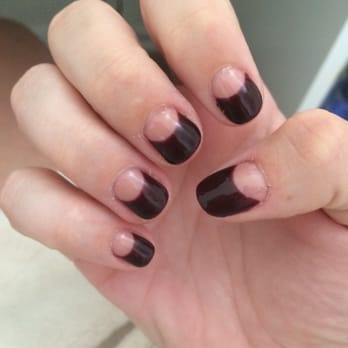 States. One week out. Gel manicure with design costs a bit more
