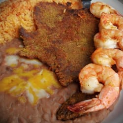 Guadalupe's Mexican Grill - MILANESA & SHRIMP! - Long Beach, CA, Vereinigte Staaten