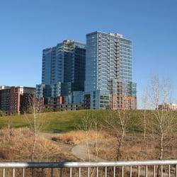 Glass House: Riverfront Park logo