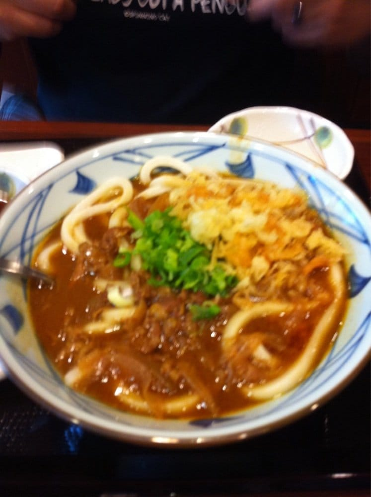 Curry Udon With Cheese Yum