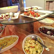 salads&other cold buffet options