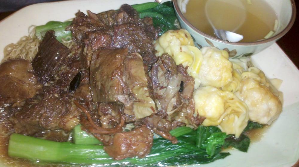 Beef Brisket lo Mein 071412 Beef Brisket Wonton lo