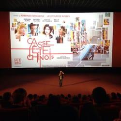 Gaumont Wilson - Toulouse, France. Avant première casse tête chinois avec Cédric klapish
