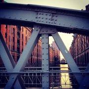 Bridges in #hafencity
