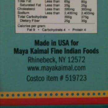 Maya Kaimal Fine Indian Foods