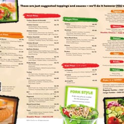 picture about Pita Pit Printable Menu named Pita Pit Menu 2013 Similar Keyword phrases Tips - Pita Pit