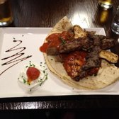 Iskender Kebab (lamb, chicken and doner meat)