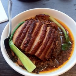 Stewed pork belly with preserved…