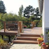 M & M Builders Deck and Arbors - San Jose, CA, United States. New Trex deck.