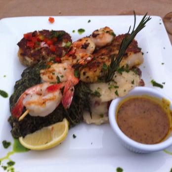 Fish thyme 87 photos cafes acworth ga united for Fish thyme menu